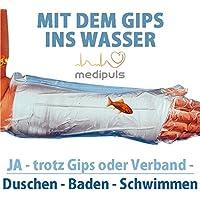 AQUASTOP - Unterarm, Erwachsene (54 cm) - wiederverwendbar wasserdicht - Überzug für Verband und Gips - durchsichtig... preisvergleich bei billige-tabletten.eu