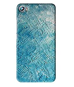 MiiCreations 3D Printed Hard Back Cover/Case for Micromax Canvas Fire 4 A107 - Wall Texture Pattern