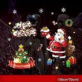 La entrega al azar Pared de la Navidad Etiqueta pegatinas de pared de cocina 1-Pack LCL Feliz Navidad y Feliz Año Nuevo