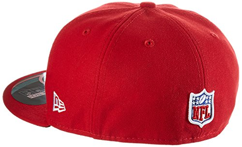 Baseball cap new era bonnet pour adulte on field nFL 59 fifty fitted carolina panthers Rouge - Seaport