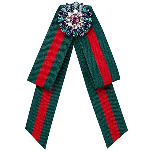 WKAIJCJ Brooch Female Pin Bow Tie Accessories Temperament Bowknot Fashion 10.7 * 14.6cm
