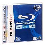 Moserbaer Blu-ray Recordable 25 GB