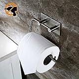 Vanten Edelstahl Toilettenpapierhalter klopapierhalter Selbstklebend ohne Bohren WC Bad Rollenhalter