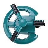 Best Spruzzatori Tubo - Haofy 360° Circle Garden Lawn sprinkler, automatico rotante Review