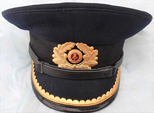 Schirmmütze.Mütze, Volksmarine, Marine, Kapitän, Kaleu, NVA, Gr. 53
