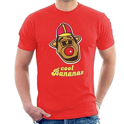 Cool Bananas Drooper Banana Splits Men's T-Shirt