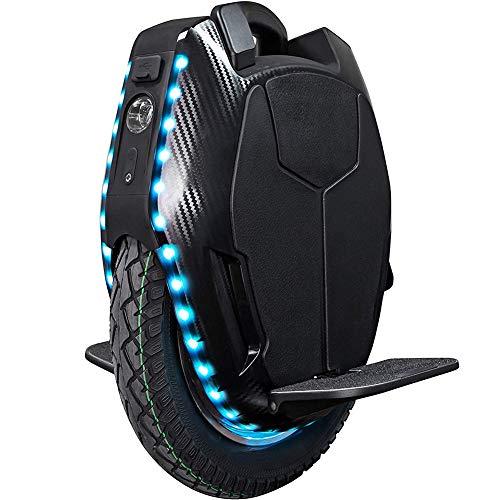 LPsweet Elektro-Einrad, Höhe Gleichgewicht Radfahren Übung Mit Stützrad Und Bluetooth-Audio, Mit LED, Gleichgewicht Drift Car Denken Scooter