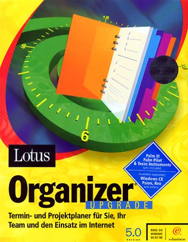 Lotus Organizer 5.0 - Upgrade