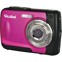 Rollei Sportsline 60 - Fotocamera Digitale, Impermeabile Fino a 3 m, Ideale per Bambini, 5 Megapixel, Funzione Video HD - Rosa