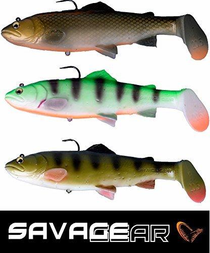 Savage Gear 3D Trout Rattle Shad 20,5cm SS Perch Gummifisch