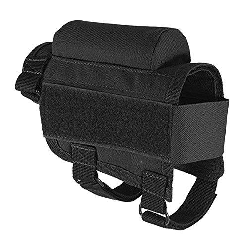 Latinaric Jagd Taktische Gewehrschafttasche Gewehr Munition Rest Halter Tasche, verstellbar für Rechte/Linke Hand (Taktische Links)
