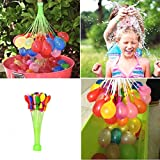 #9: Happy Baby Balloons Fill and Tie 37 Water Balloons in 60 Seconds Self Sealing Water Balloons