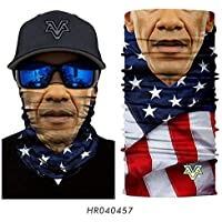 Scarves PNX 3D Marvel Cycling Face Mask Wolverines Venom Neck Gaiter Cycling Headband Star Wars Magic Scarf Outdoors Cosplay Ski Balaclava