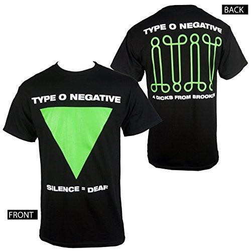 Type O Negative Silence = Deaf T Shirt (Medium)