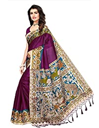 9aedd3ff8d Softieons Ecommerce Women's Mysore Silk Designer Printed Saree With Blouse  Piece (SOFT_138_VAR)[sarees