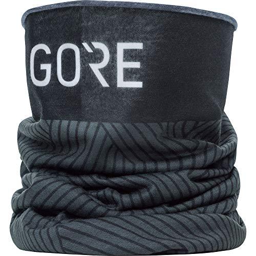 Gore wear m scaldacollo unisex, taglia unica, colore: nero/grigio scuro