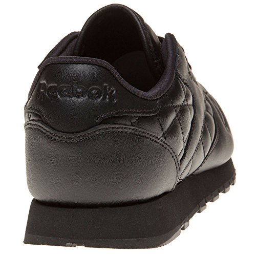 Reebok Classic Leather Quilted Femme Baskets Mode Noir Black