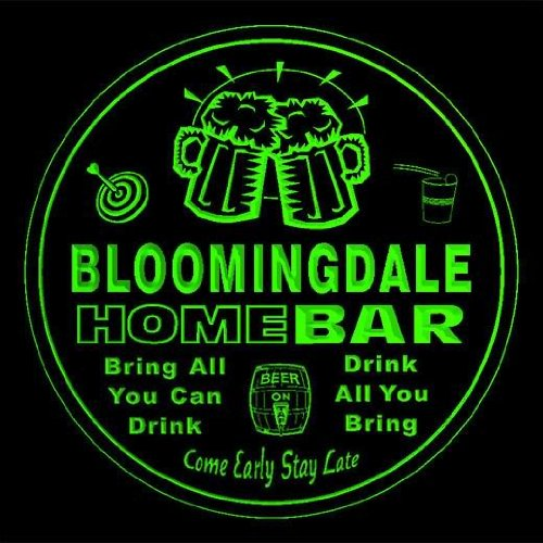 4x-ccq04176-g-bloomingdale-family-name-home-bar-pub-beer-club-gift-3d-coasters