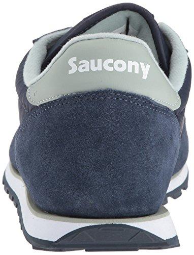 Saucony Jazz Low Pro, Chaussures de Gymnastique Homme Gris (Navy/aqua Grey)