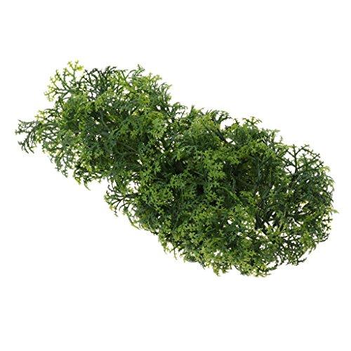 non-brand MagiDeal Künstliche Pflanzen Rebe Kunstpflanzen Terrarium Dekoration Für Eidechse, Chamäleons, Baumfrösche, Geckos, Schildkröten, Schlangen usw.