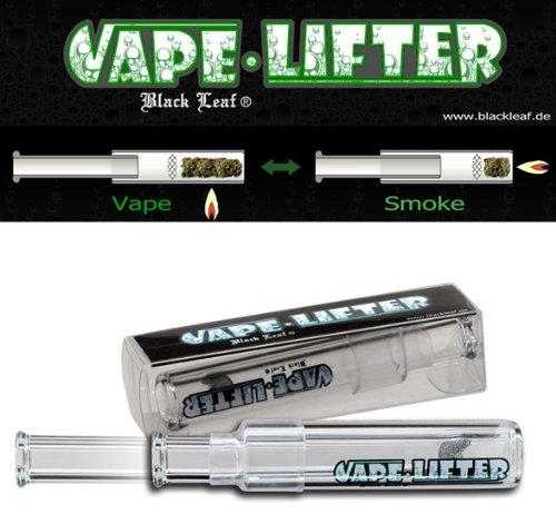 Black Leaf Vape Lifter Vaporizer 2in1 Hand-Vaporisierer u Pur-Pfeife