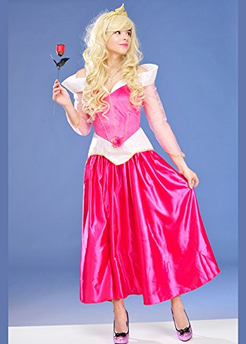Frauen Disney Sleeping Beauty Prinzessin Kostüm Large (UK (Kostüme Prinzessin Erwachsener Disney)