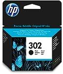 HP 302 Cartouche d'Encre Noir Authent...
