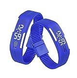 Sannysis® Goma Reloj LED Fecha Deportes pulsera; Digital reloj de ...