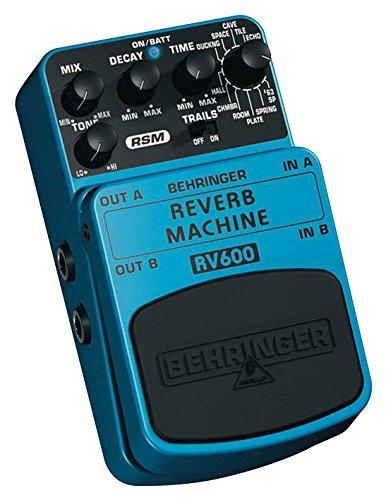 Behringer RV600–guitarra pedal Reverb [1], revestido (Epítome verificado)