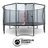 Trampolin Booster Black 490 mit Netz