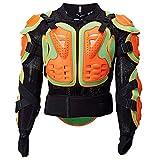 TZTED Protezione Giacca Armatura Moto Corpo Armatura Protector Motocross Corsa Protettori per Torace Indumenti di Protezione Completa Moto off Road,2XL(80~85KG)