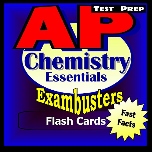 AP Chemistry Test Prep Review--Exambusters Flash Cards: AP Exam Study Guide (Exambusters AP Book 2) (English Edition) (Chemie Ap Test)