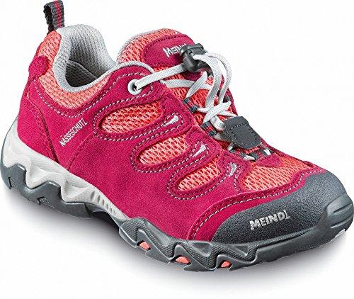 Meindl Unisex Wander-, Bergsteigerstiefel in Erdbeer/ Pink Gr 29