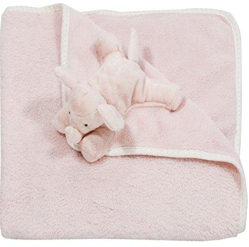 Walton Baby - Elephant Softee - Large Security Blanket - Pink
