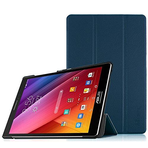 Fintie ASUS Zenpad S 8.0 Z580CA / Z580C Hülle Case - Ultra Schlank Superleicht Ständer SlimShell Cover Schutzhülle Etui Tasche für Asus Zenpad S 8.0 Z580CA / Z580C (8 Zoll) Entertainment Pad Tablet-PC, Marineblau