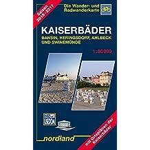 Nordland Karten, Bansin, Heringsdorf, Ahlbeck (Deutsche Ostseeküste)