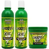 BOE Crece Pelo - Lote de productos para el crecimiento del cabello, mascarilla de 450