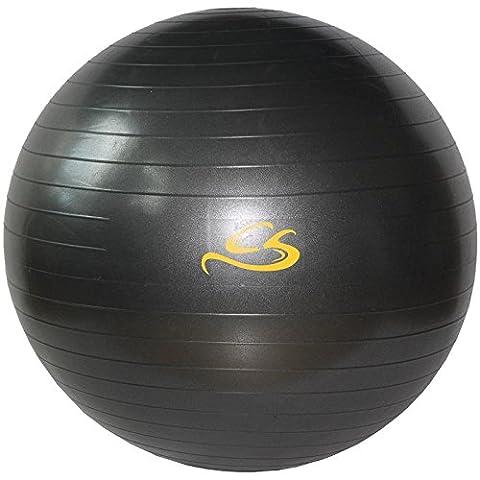 COX SWAIN Gymnastikball Professional, Colour: Dark Grey, Size: 75cm