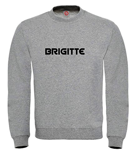 Felpa Brigitte - Print Your Name Gray