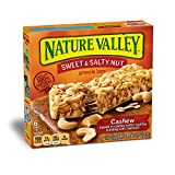 #4: Nature Valley Cashew sweet and salty nut Granola Bars ( 6 bars pack )
