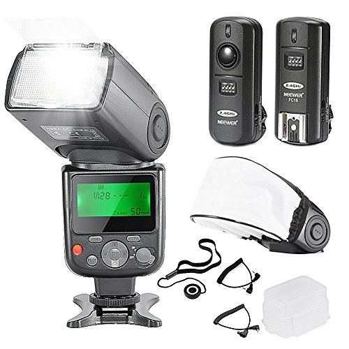 Neewer NW-670 TTL 10081788 Flash Speedlite Kit pantalla
