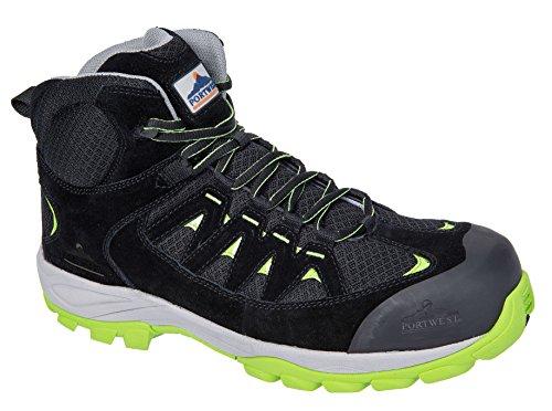 Portwest FC55 Compositelite Midcut S3 Trainer, 45, vert vert