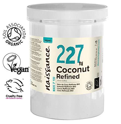 Naissance Olio di Cocco Raffinato Biologico - Olio Vegetale Puro al 100% - 1k