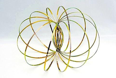 AUTHENTIC Toroidz (LIGHT GOLD SHINE) - 3D ARM SLINKY -