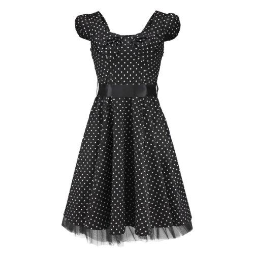 hr-london-kleid-never-forgotten-dress-dotted-black-white-uk12-m