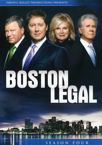 Click for larger image of Boston Legal: Season 4 [DVD] [Region 1] [US Import] [NTSC]