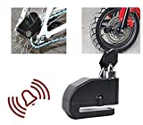 Andride High Quality Bike Security Anti Theft Alarm Sound Disk Brack Lock