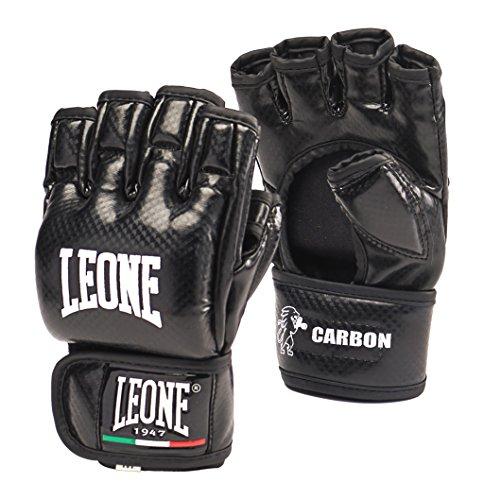 Leone 1947 Carbon Guanti MMA, Nero, L