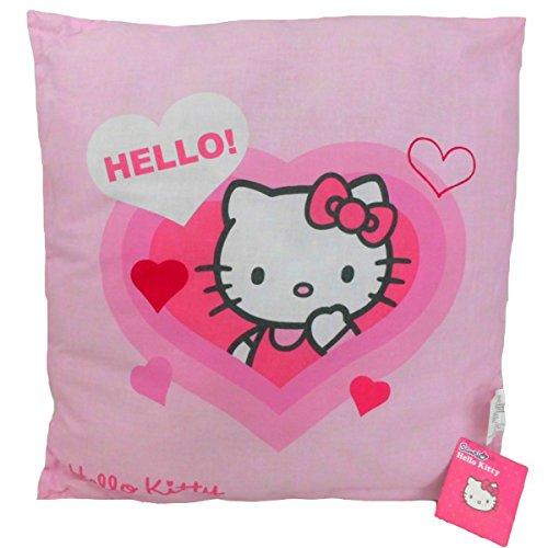 CTI Hello Kitty Lucie Kissen Kuschelkissen Dekokissen Sofakissen 40x40 cm