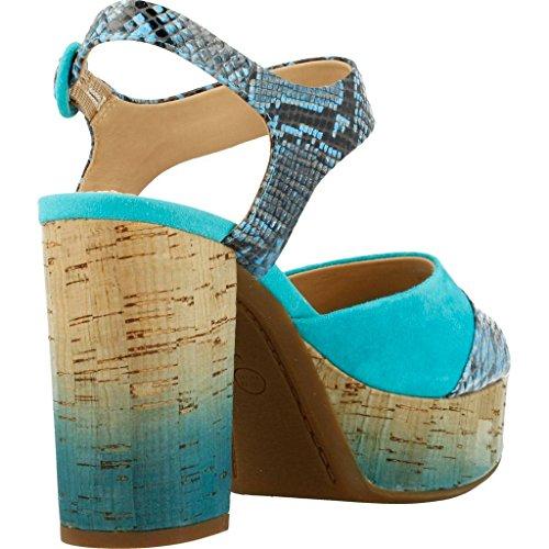 Sandali e infradito per le donne, colore Blu , marca GEOX, modello Sandali E Infradito Per Le Donne GEOX D GALEXIA Blu Blu